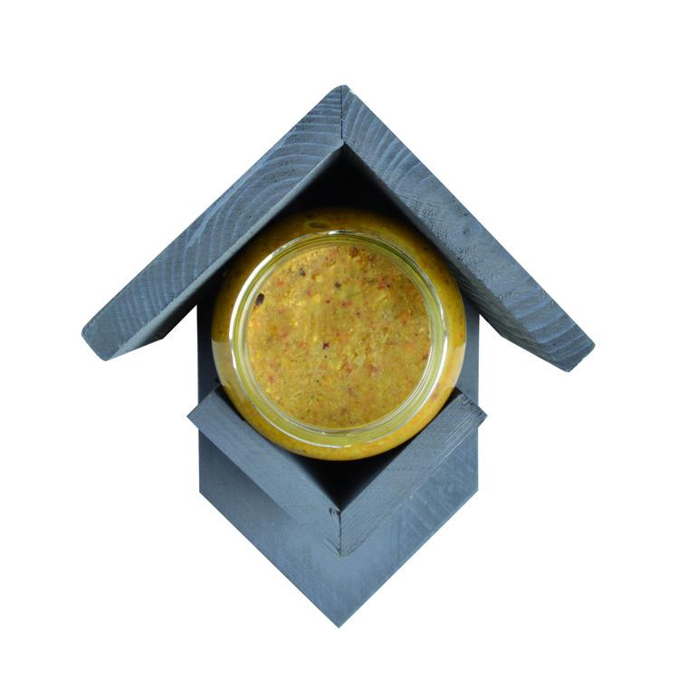 Support en bois pour beurre d'arachide de 1 kg 231380