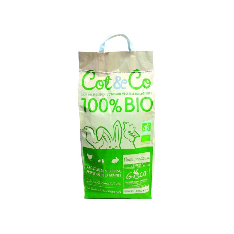 COT & CO Pondeuse Granulé Bio