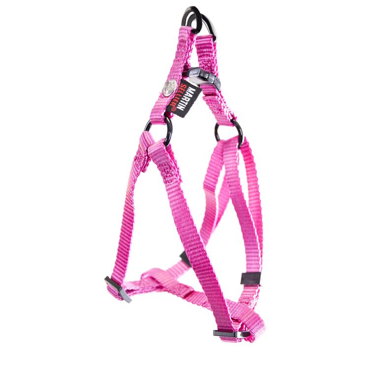 Harnais baudrier réglable rose pour chien - 1x25/35 cm 232016