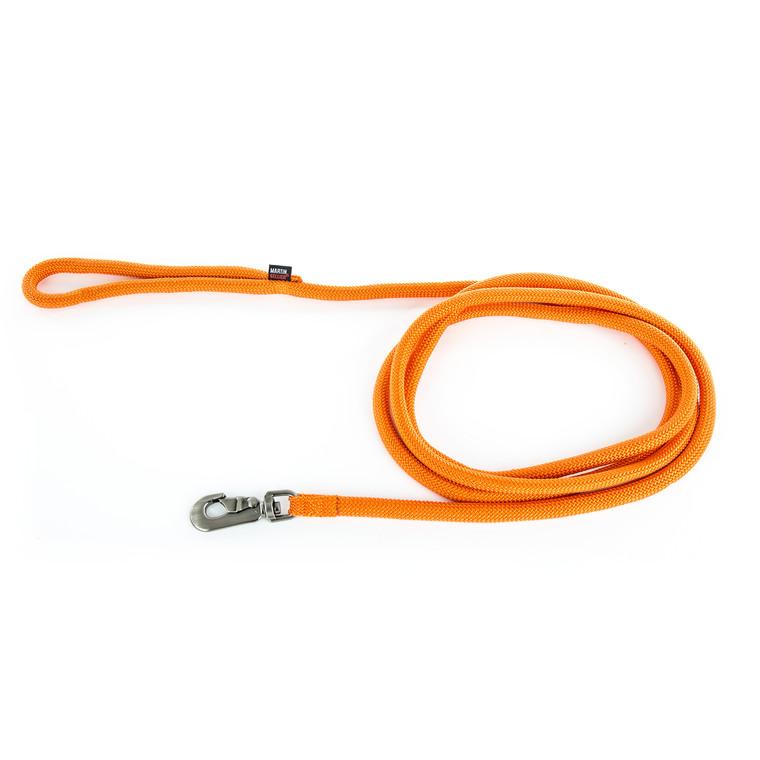 Longe ronde pour chien coloris orange 1,3 cm x 3 m 232087
