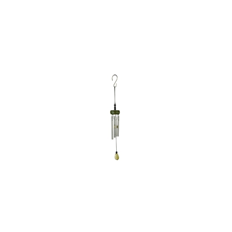Carillon mini gemme en aluminium, H 20 X Ø 5cm 232562