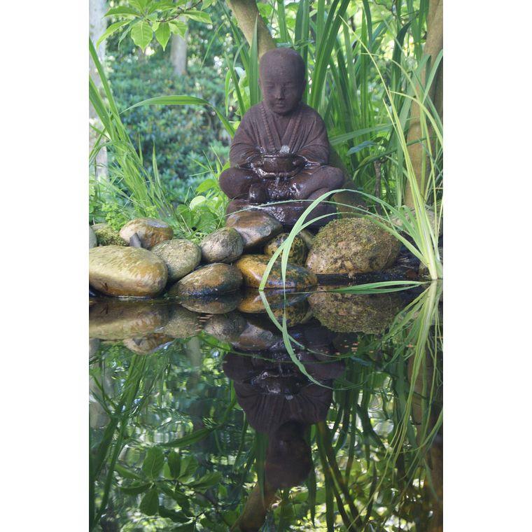 Kit fontaine de jardin Ubbink Semarang avec éclairage LED 232695