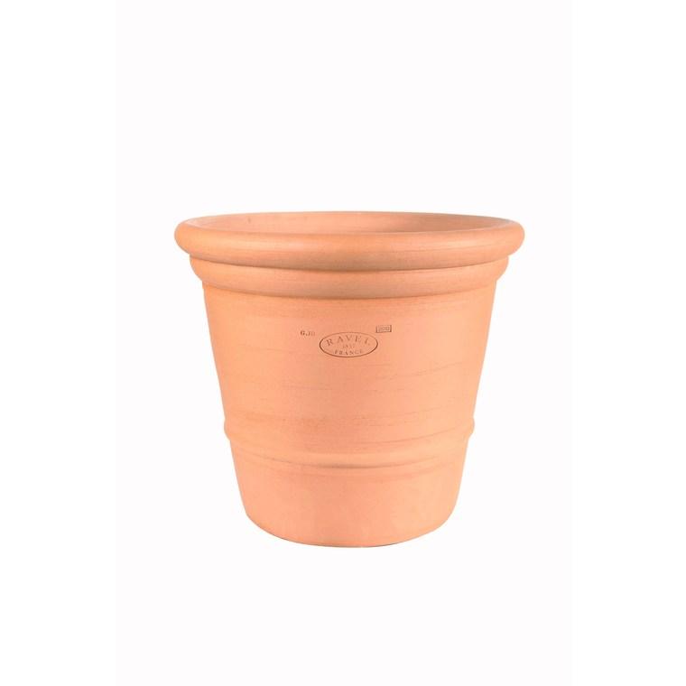 Pot Camélia en terre cuite H 74 x Ø 80 cm 232727