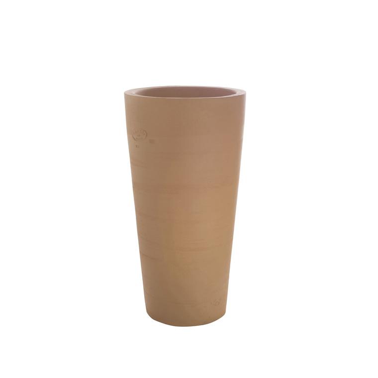 Vase Cycas fin en terre cuite H 65 x Ø 38 cm 232730