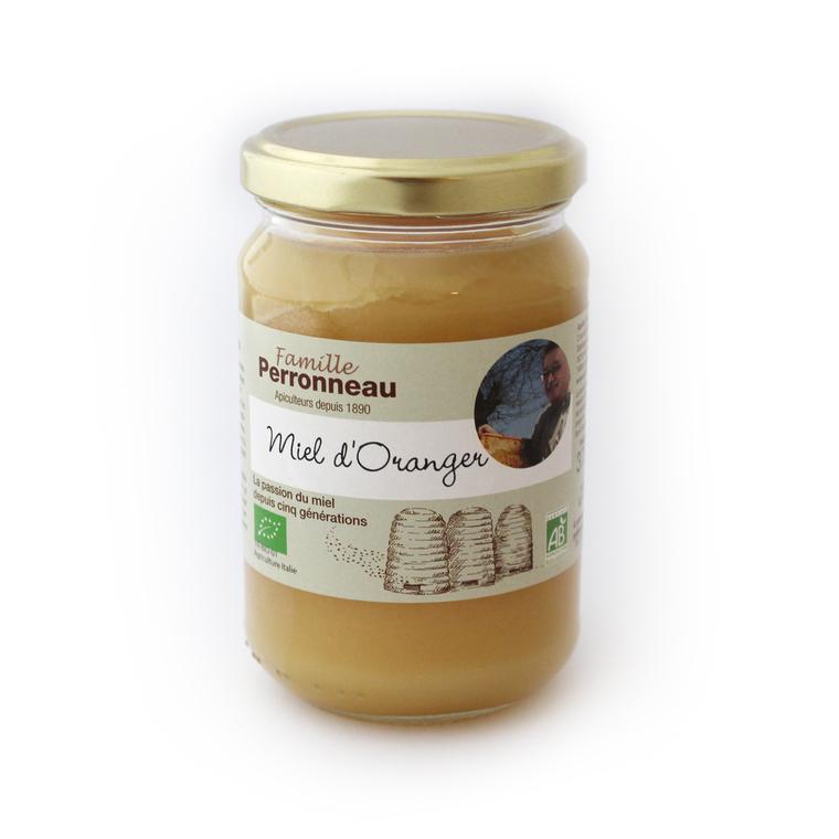 Miel d'Oranger bio en bocal de 375 g 232753