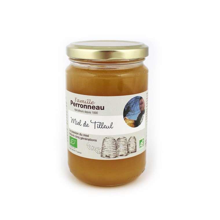 Miel de tilleul bio - pot en verre de 375 g 232756