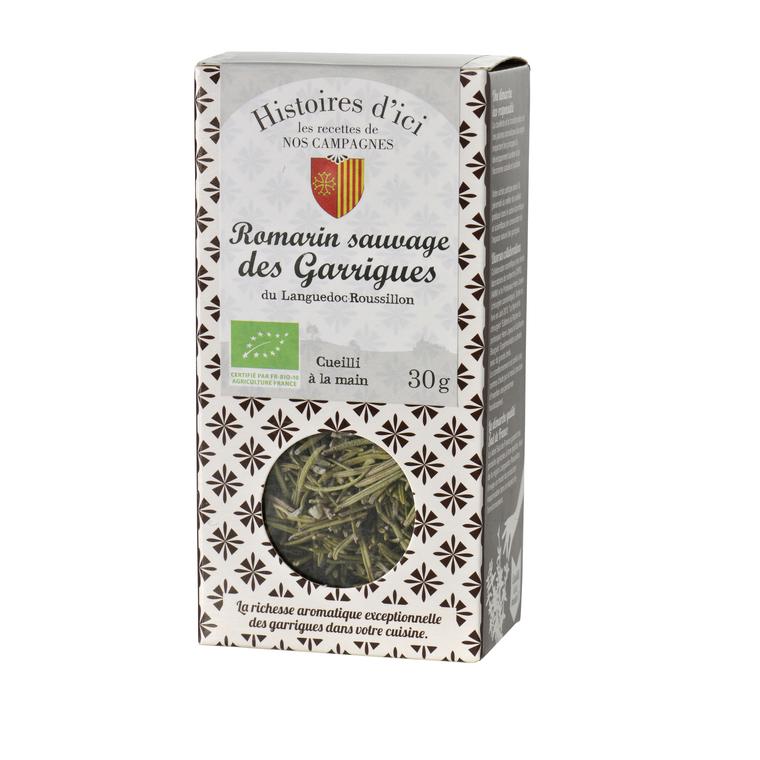Romarin sauvage des garrigues de Provence Histoire d'ici 30 g