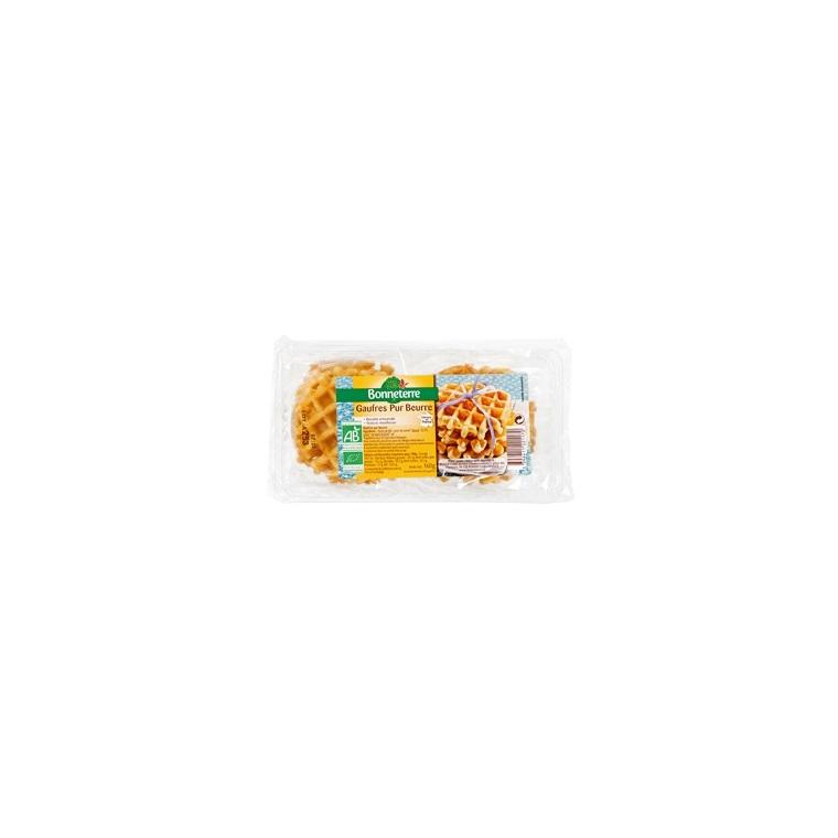 Gaufres pur beurre Bonneterre bio 160 g 233295