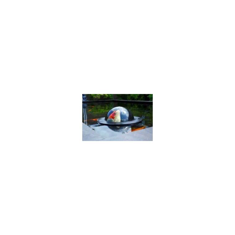 Dôme flottant pour bassin à poissons – Ø45 cm 233315