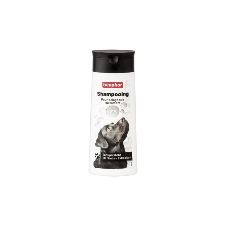 Shampoing Bulles Pelage Noir pour chien 250 ml 233957