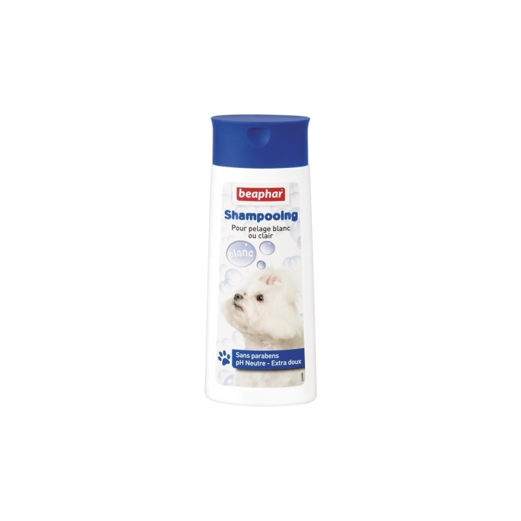 Shampoing Bulles Pelage Blanc 250 ml
