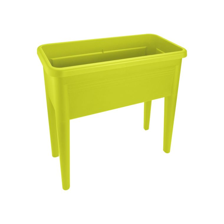 GREEN BASICS table de culture XXL lime vert L75,5 x P36,5 x H65 234177