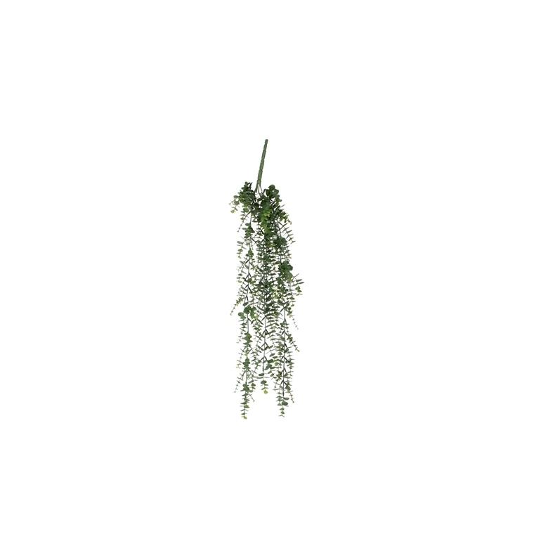 Eucalyptus en chute vert plante artificielle à suspendre 65 cm 234199