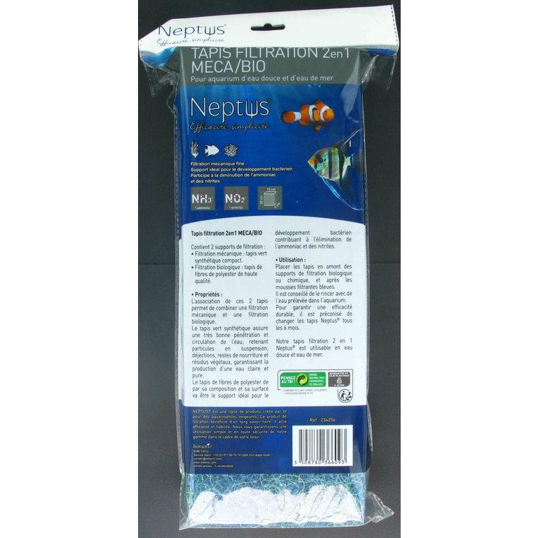 Tapis filtration mec et bio Neptus 234256