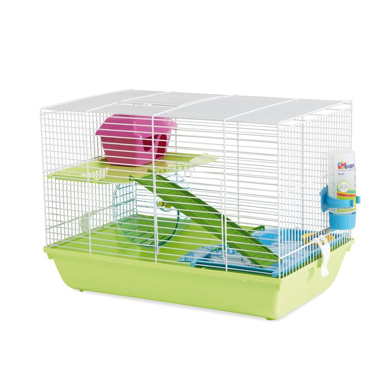 Cage Martha Triple Blanc 47x30x34 cm 234282