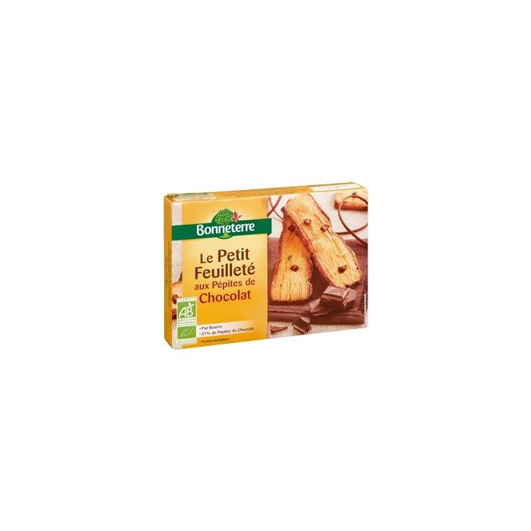 Le petit feuilleté aux pépites de chocolat 120 g 234368