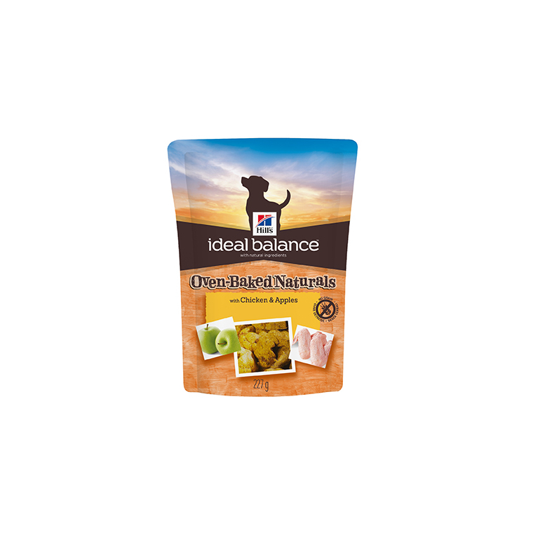 Friandises canine idéal balance au poulet et aux pommes 227 g