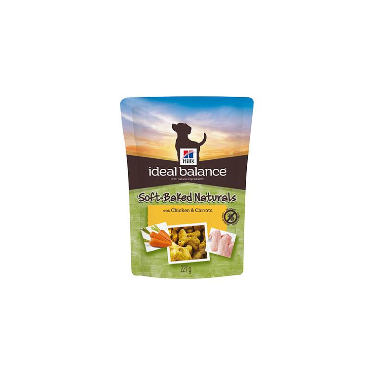 Friandises canine idéal balance au poulet et aux carottes 227 g 234659