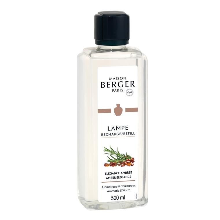 Parfum Elégance ambrée pour Lampe Berger 500 ml
