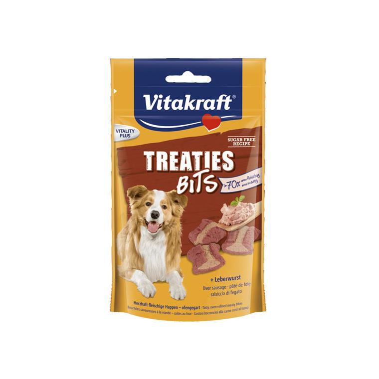 Friandises pour chien Treaties Bits au pâté de foie - 120 g 235100