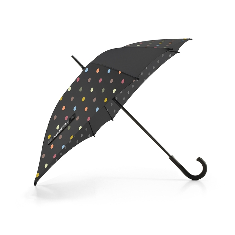 Parapluie noir octogonal 85x90x85 cm 235199