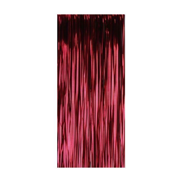 Lametta Plastique 49 cm Rouge 247601