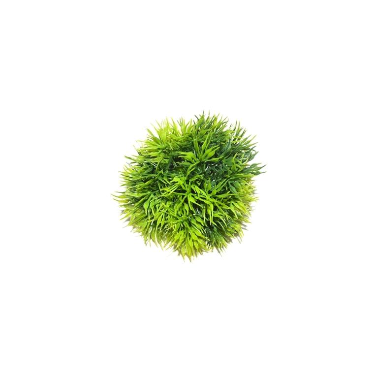 Feuillage pampa vert en plastique 9 x 6 cm 24294