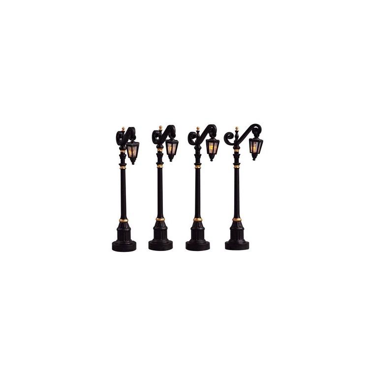 Lampe Coloniale 14x2x10,2 cm Noir 243432