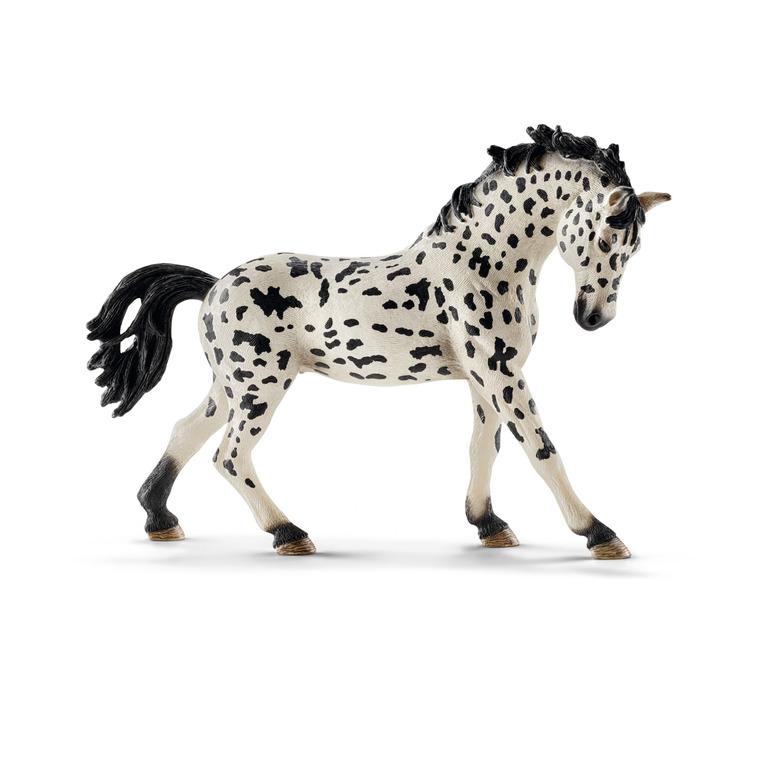 Figurine Jument Knabstrupper Série Animaux de la Ferme 15x3,5x10,5 cm 245382