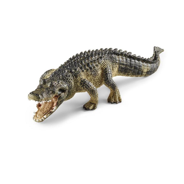 Figurine Alligator Série Animaux Sauvages 19x5,9x3,7 cm 245411
