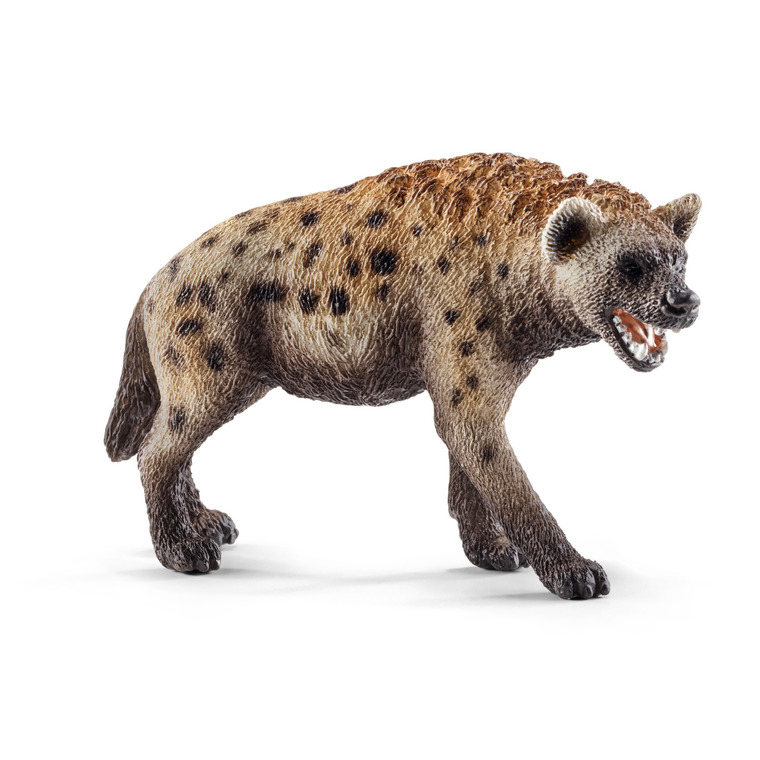 Figurine Hyène Série Animaux Sauvages 3,1x8,6x5,2 cm 245551