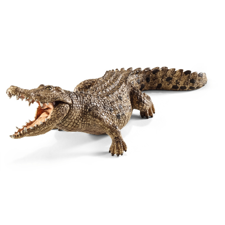 Figurine Crocodile Série Animaux Sauvages 18x6,7x5,2 cm