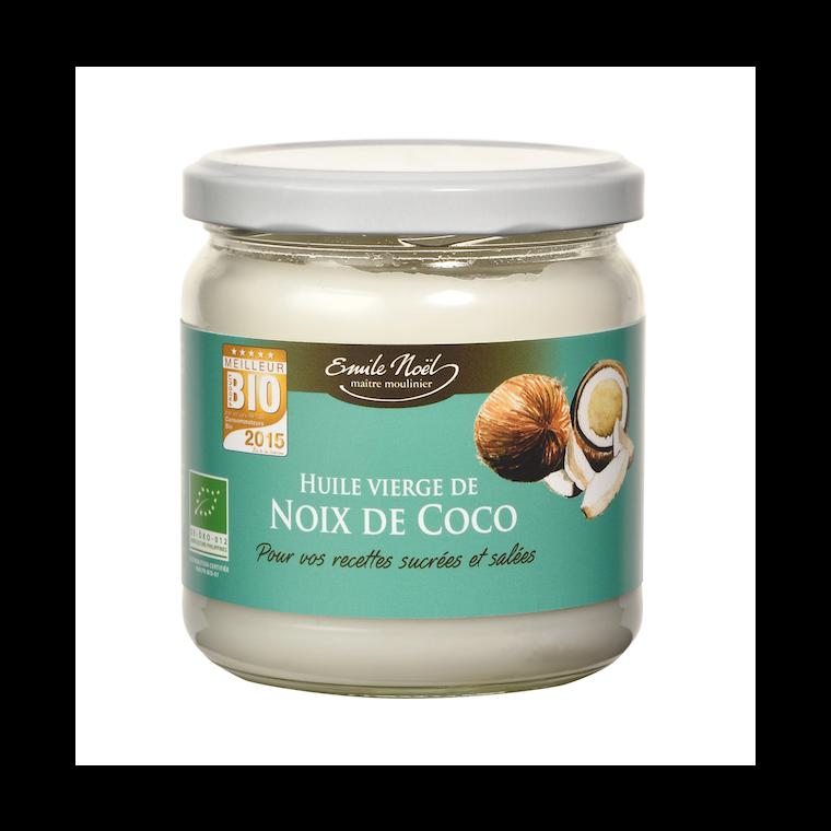 Huile vierge coco bio 340 ml 340 ml EMILE NOEL