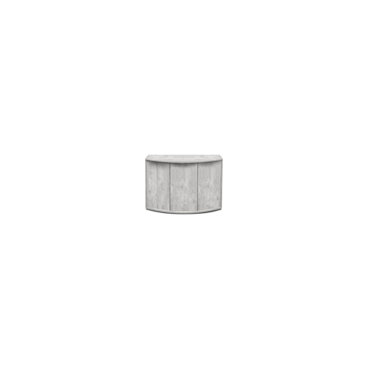 Meuble fusion horizon 120 gris béton 123x50xH83 cm 246065