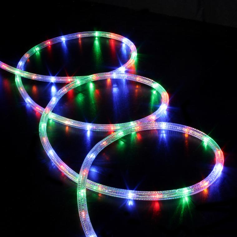 Cordon LED multicolore animé 8 fonctions 10 m