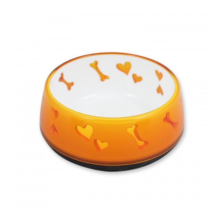 Bol chien orange 900 ml