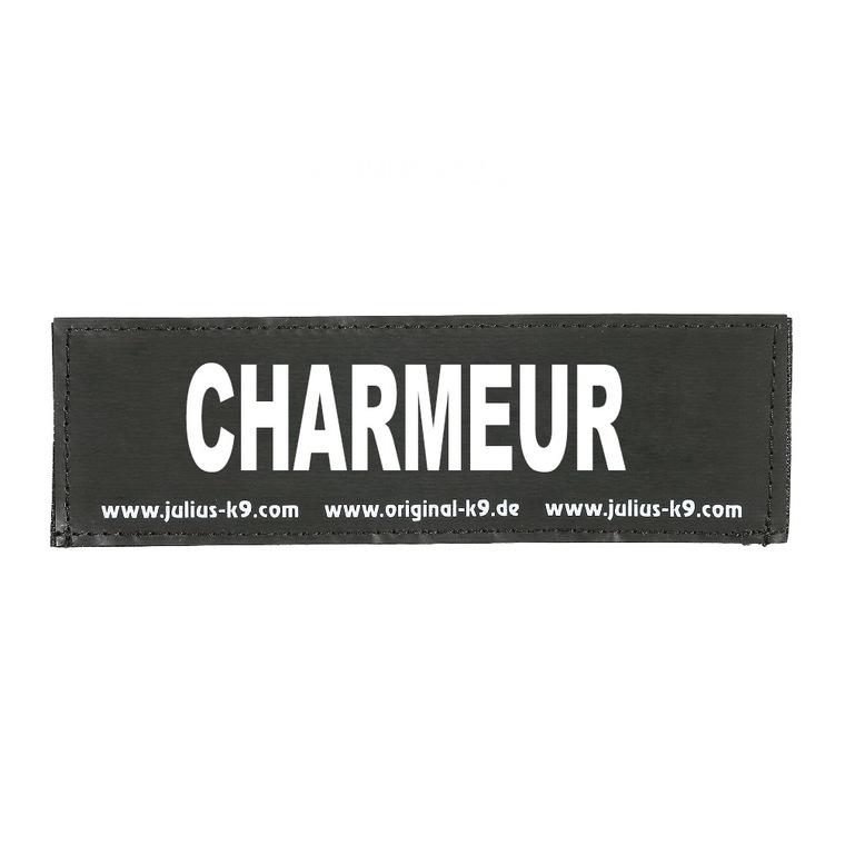 Label charmeur pour harnais julius taille baby 2 et mini 246366