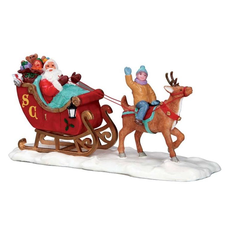 Traineau du Père Noël 15.3 x 5.7 x 5.8 cm