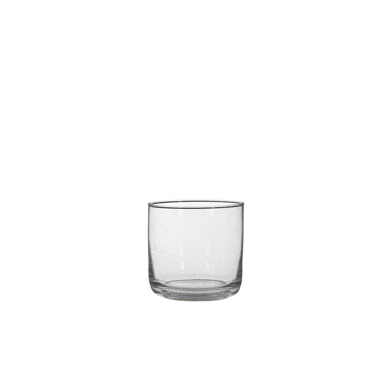 Vase cylindrique Lilou en verre Ø 16,5 x H 16,5 cm 247165