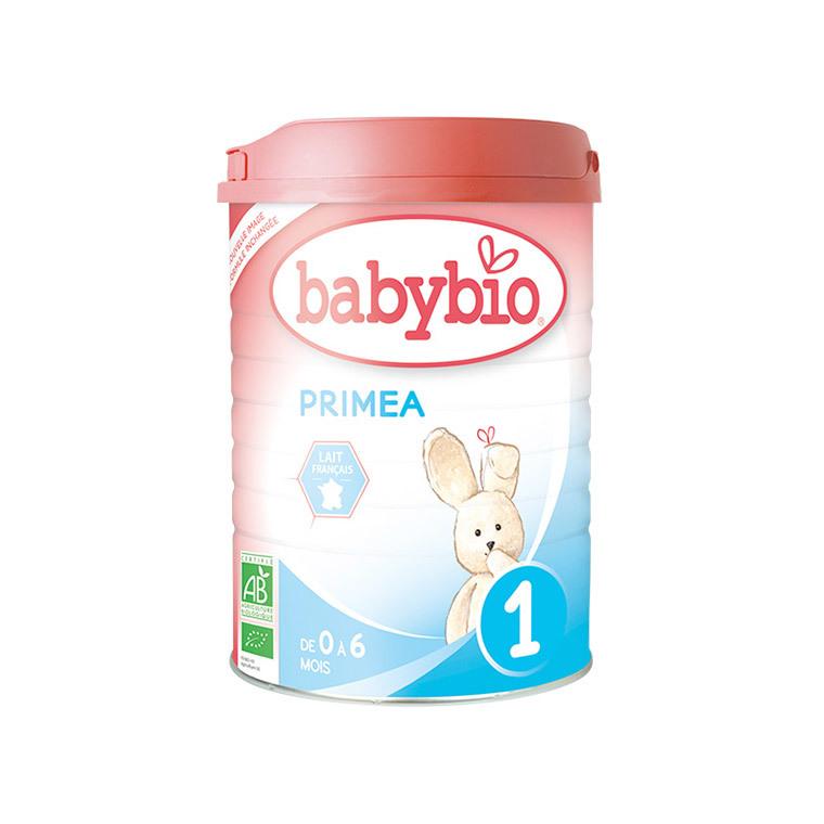 Lait infantile Babybio 1er âge primea bio 900 g 248229