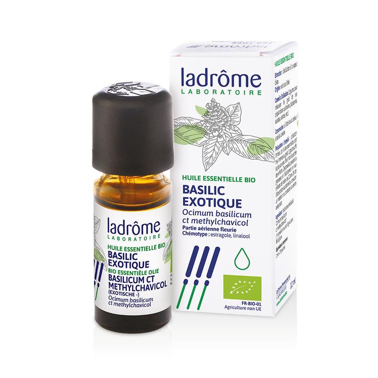 Huile essentielle bio de Basilic exotique Ladrôme - 10 ml 250558
