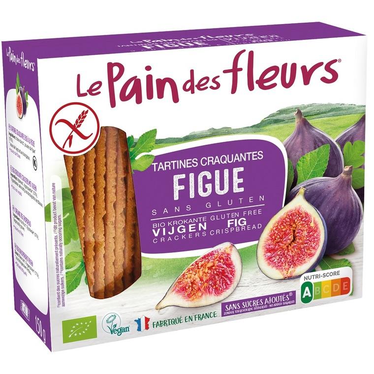 Tartines craquantes figue 150 g PAIN DES FLEURS 250587
