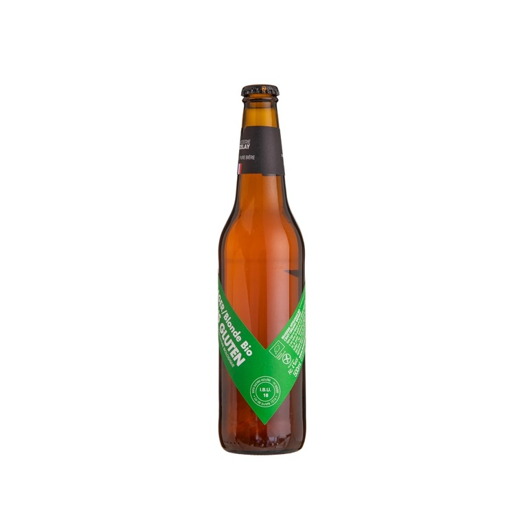Bière blonde sans gluten bio 50 cl 252835