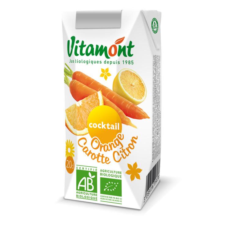 Cocktail orange carotte citron bio 6 x 25 cl 256013