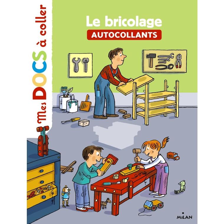 Le Bricolage Mes Docs à Coller dès 3 ans Éditions Milan 256090