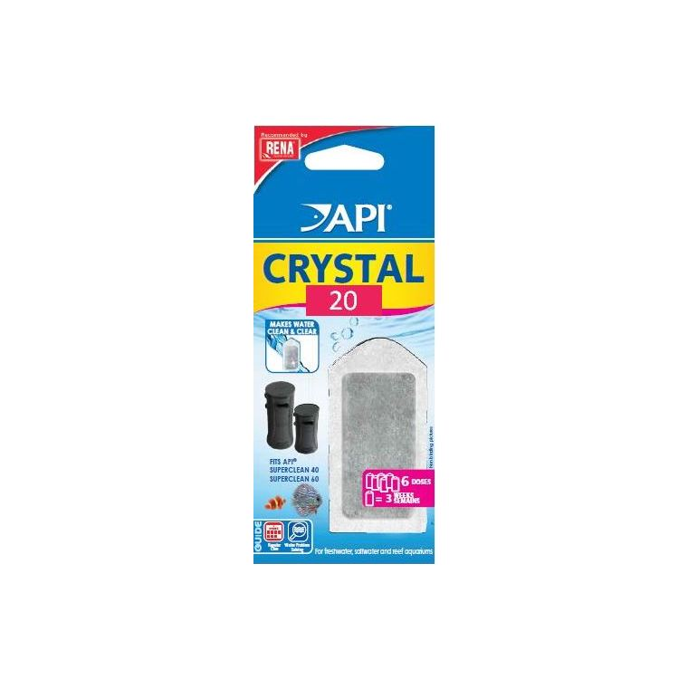 Crystal New superclean 20  X6