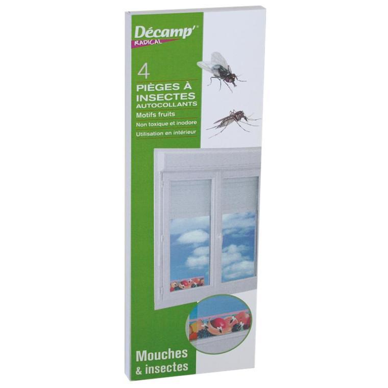 Piège à mouches fenêtres décor x 4 257905