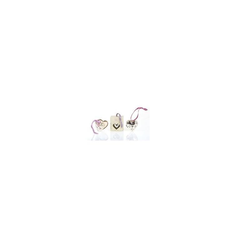 Cœur en métal PM Poudre de riz 258292