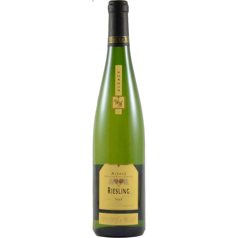 Vin blanc de 2013 Riesling traditionnel bio 75 cl