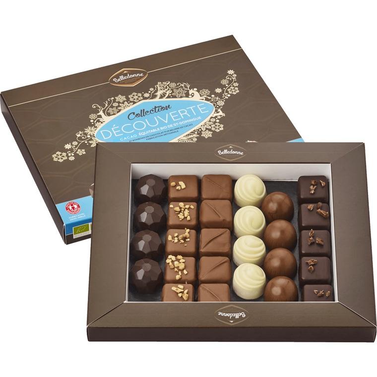Coffret de chocolats collection découverte 240 g